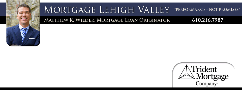 lehigh valley pa mortgage